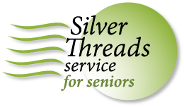 Silver Threads logo and link