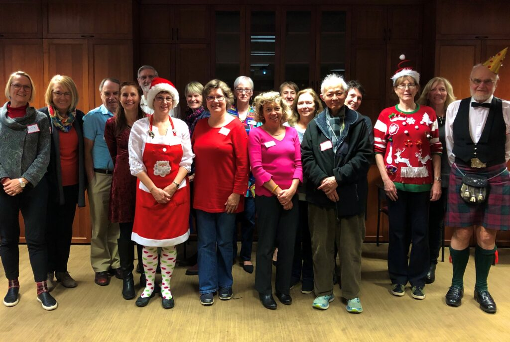 Volunteer get to gather at Christmas 2019