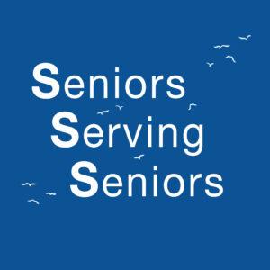 Seniors Serving Seniors Logo and home button