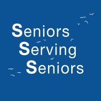 Seniors Serving Seniors Logo and home button